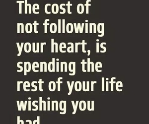 quote, life, and heart image