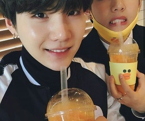 drinks, cute, and bts image