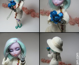 art doll, ever after high, and etsy image
