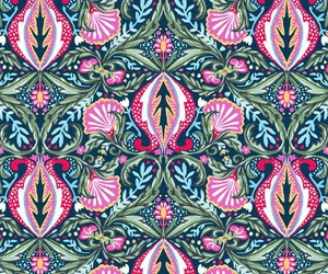 colorful, patterns, and pink image