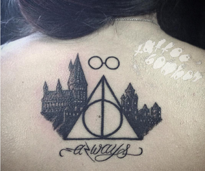 always, harry potter, and tatouages image