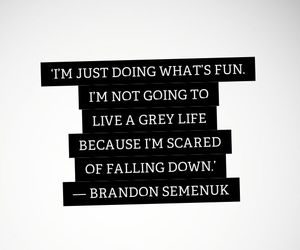 downhill, quote, and inspiration image