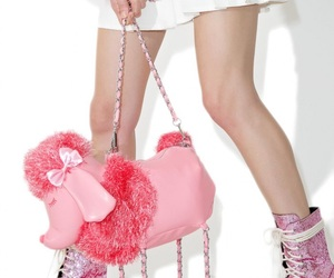 pink, dollskill, and shoes image