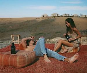 couple, love, and Barcelona image