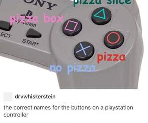 funny, pizza, and post image