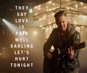 love and let's hurt tonight image
