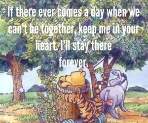 aa milne, heart, and piglet image