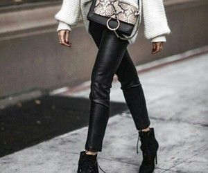 animal print, boots, and chloe image