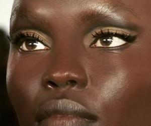 beautiful, model, and makeup image