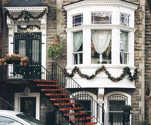 house, beautiful, and christmas image