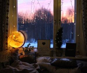 beautiful, beautiful sky, and bed image