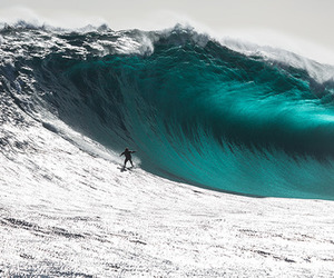 surfer and surfing image