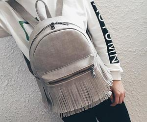 accessory, bag, and grey image