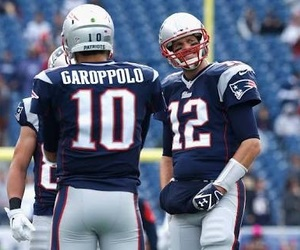 NFL, patriots, and jimmy garoppolo image