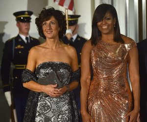 barack obama, michelle obama, and president image