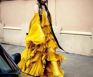 dress, fashion, and Roberto Cavalli image