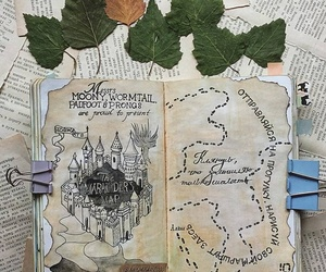 art, wreck this journal, and harry potter image