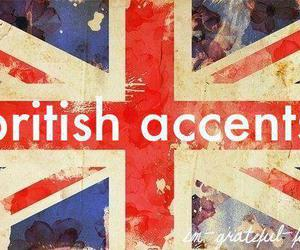 british, accent, and flag image