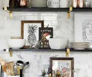 kitchen, interior, and decoration image