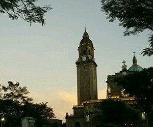 aesthetic, belltower, and evening image