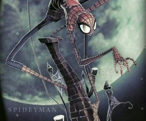 Marvel, spiderman, and tim burton image