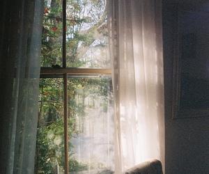 window, vintage, and light image