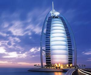 Dubai, sea, and city image