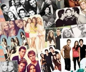 Collage, gossip girl, and series image
