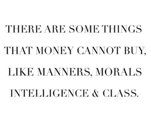 quotes, intelligence, and money image