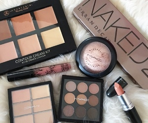 cosmetics, eyeshadows, and make up image