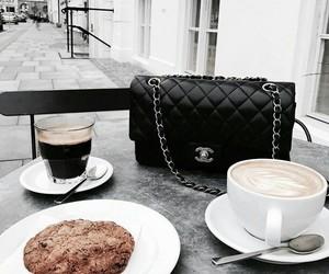 chanel, coffee, and bag image