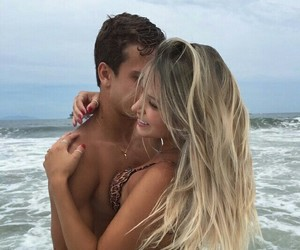 couple, goals, and sea image