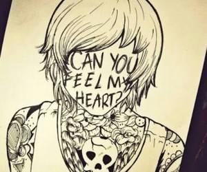 bring me the horizon, oliver, and Darkness image