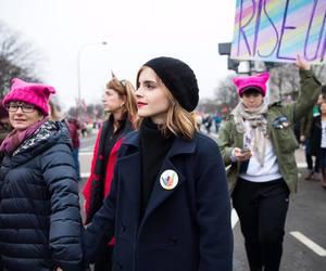 emma watson, woman, and feminism image