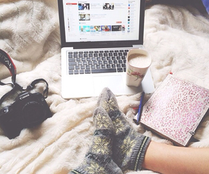 coffe, serenity, and notebook image