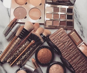 makeup, luxury, and naked image