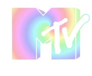 mtv, music, and rainbow image
