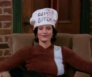 monica, quotes, and tv show image