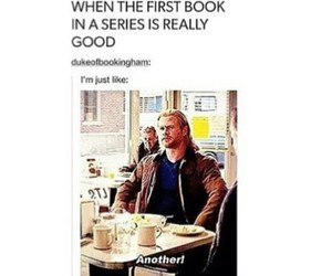 books, funny, and thor image