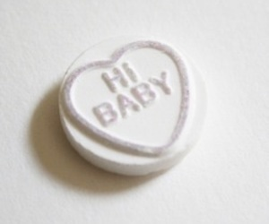 baby, pale, and candy image