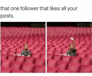 funny, follower, and followers image
