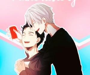 love, victor nikiforov, and yuri on ice image