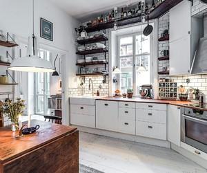 home, kitchen, and interior white image