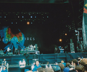 band, concert, and friendly fires image