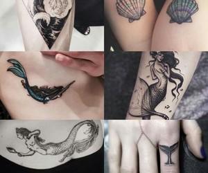 mermaid and tattoo image