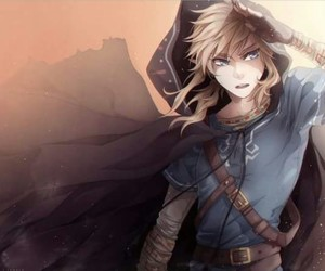 link, the legend of zelda, and anime image