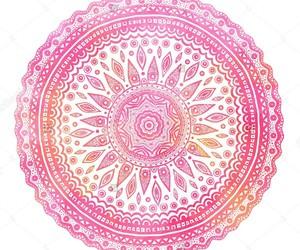 mandala and pink image