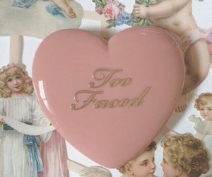 too faced, aesthetic, and angel image