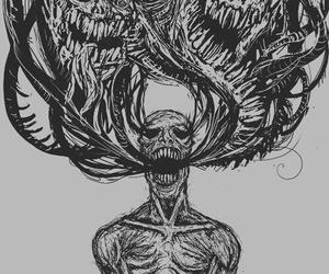 demon, art, and monster image