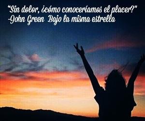 frases, john green, and libros image
